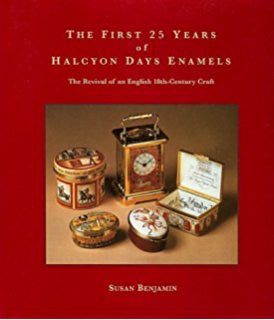 The First 25 Years of Halcyon Days Enamels by Susan Benjamin | Halcyon Days | Made in England-Specialized Books-Sterling-and-Burke
