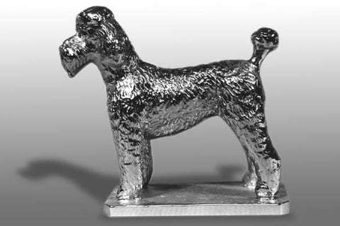 Hood Ornament | Poodle | Puppy Clip Poodle | Mascot / Hood Ornament | 3 1/2 by 3 1/2 Inches | Made in England