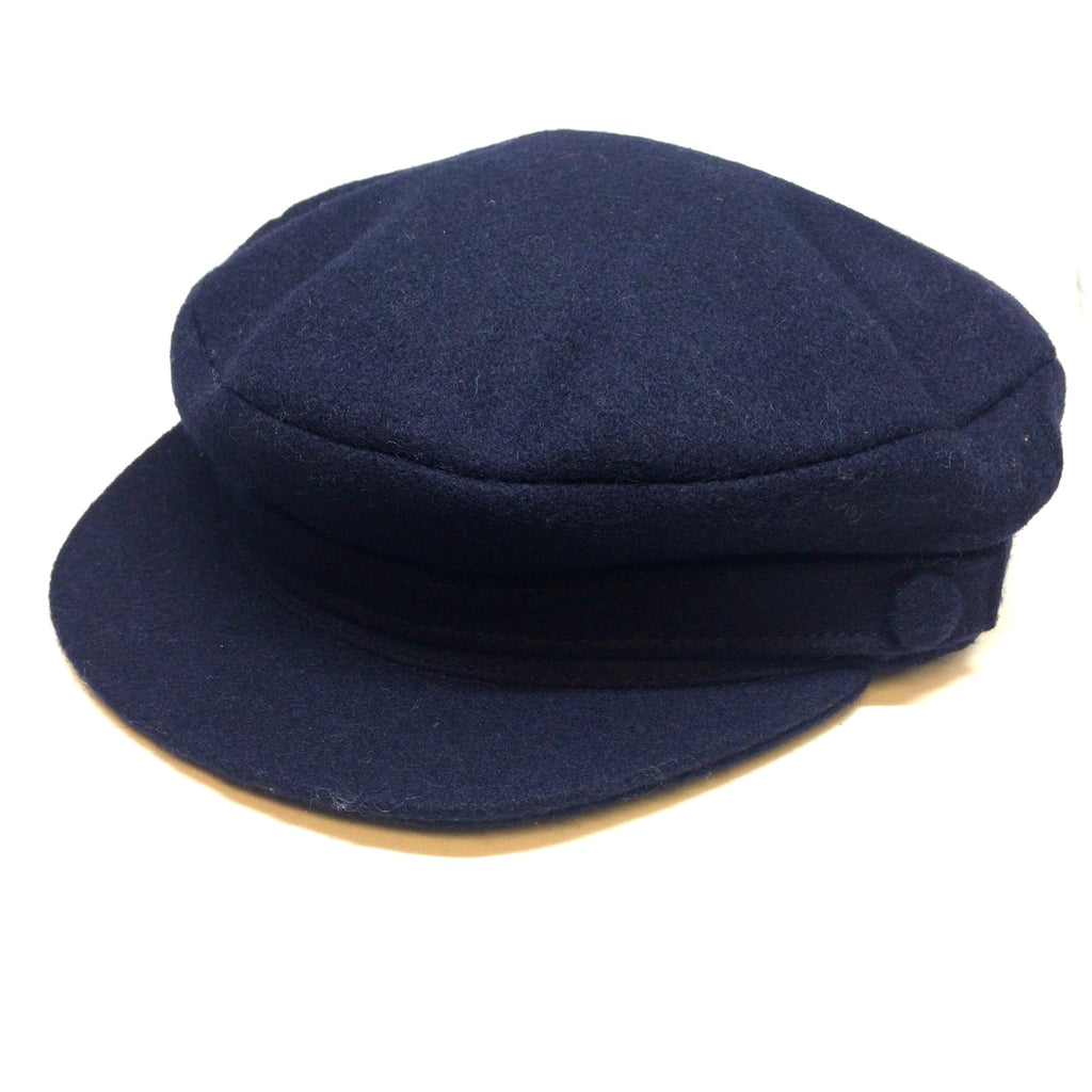 Nelson Cap, Made in Scotland, Navy-Hat-Sterling-and-Burke