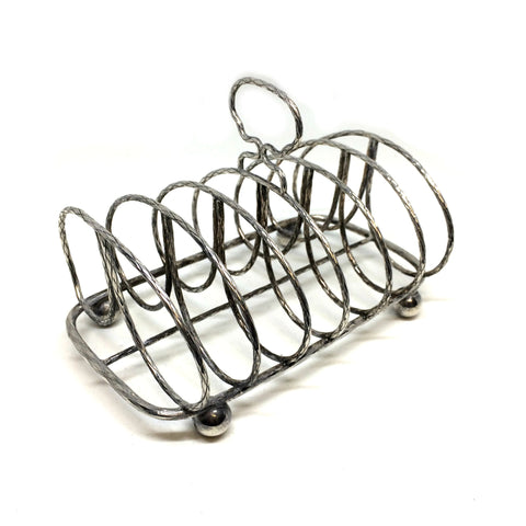 Antique Toast Rack / Letter Rack made in England.-Sterling-and-Burke