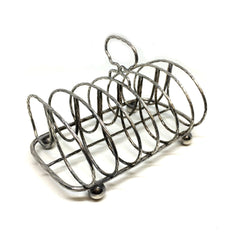 Antique Toast Rack / Letter Rack made in England.--Sterling-and-Burke