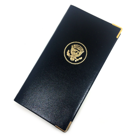 Presidential Seal Address Book | 6 by 3 | Bonded Leather-POS