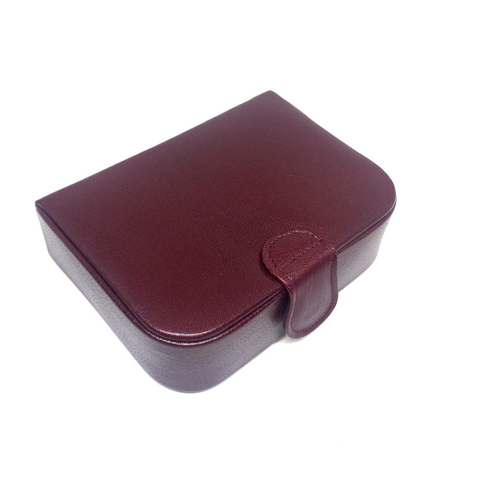 Stud Box with Single Compartment, Suede Lining