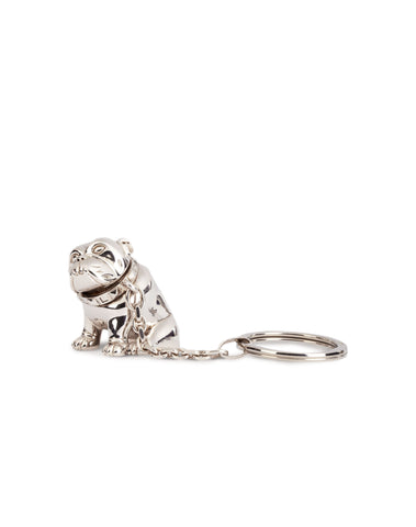 Dunhill Bulldog Key Fob in Palladium