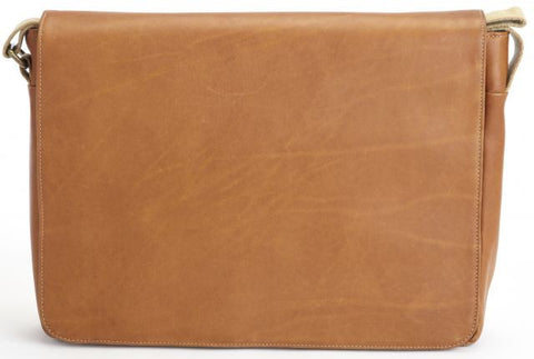 Fitzgerald Leather Messenger Bag-Messenger Bag-Sterling-and-Burke