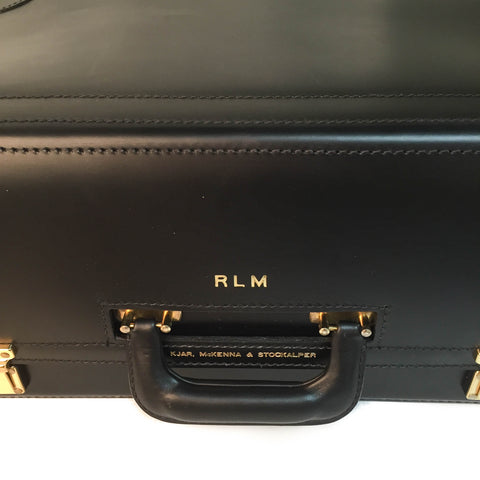 Work Horse 20 Inch Leather Trial Bag | Litigator Bag | All Leather | Premium Quality | Sterling and Burke-Korchmar Business-Sterling-and-Burke