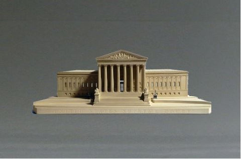 Supreme Court Sculpture | Custom Supreme Court Plaster Model | Extraordinary Quality and Detail | Made in England | Timothy Richards