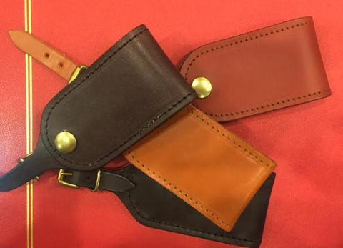 Luggage Tag | Bridle Hide Leather | Made in England | Sterling and Burke Ltd