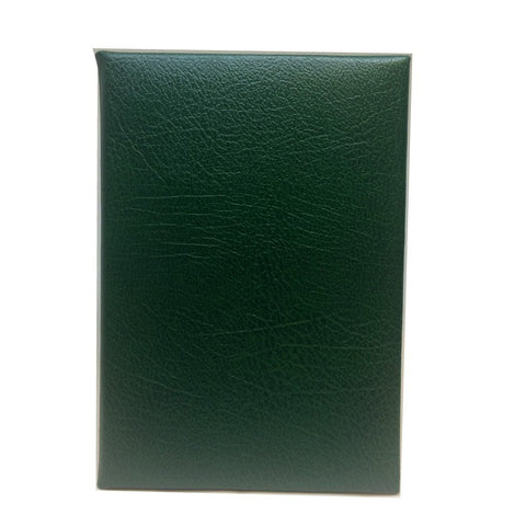 Buffalo Calf Notebook, 8x6, Lined Pages-Titled Notebooks-Sterling-and-Burke
