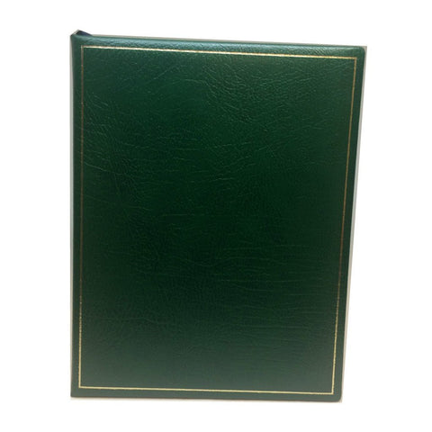 Buffalo Calf Manuscript Book with Unlined Pages , 9 by 7 Inches-Notebooks-Sterling-and-Burke