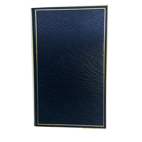 Leather Notebook, 7x4"