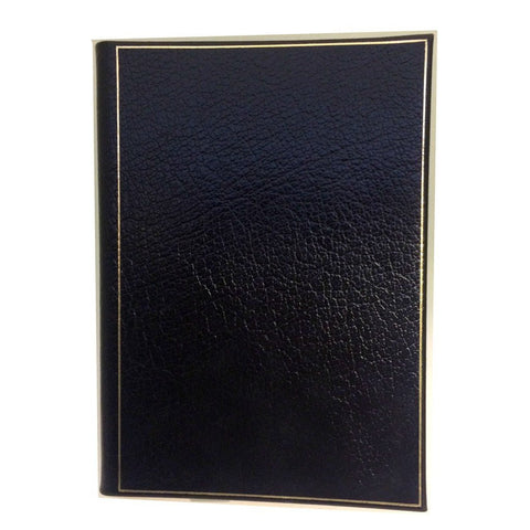 Leather Notebook, 8 by 6 Inches, Blank Pages