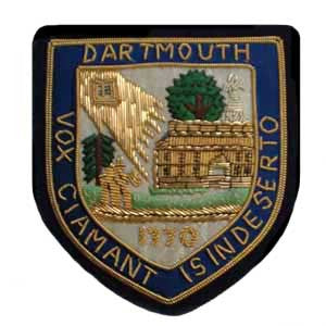Dartmouth University Blazer Badge | Made in England | Sterling and Burke