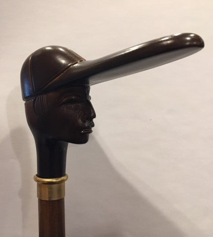 Man in a Ball Cap Walking Stick | Made in USA-Walking Stick-Sterling-and-Burke