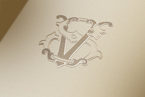 Bespoke Monogram Samples | Custom Victorian Monograms | Hand Engraved Stationery and Invitations | Elegant Monogram Examples