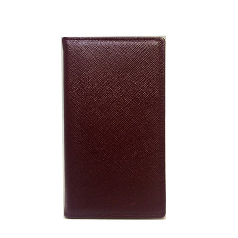 Crossgrain Leather Cover with Removable Notes, 6 by 3 Inches