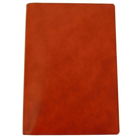 Highland Calf Leather Cover with Removable Notes, 6 by 4 Inches