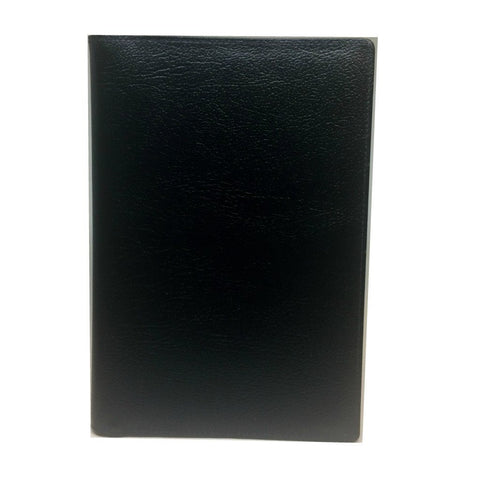 Calf Leather Cover with Removable Notes, 8 by 6 Inches