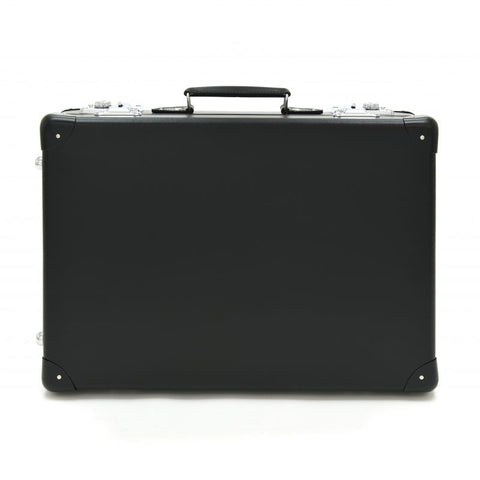 "Globe-Trotter Original 20"" Trolley Suitcase in Black"