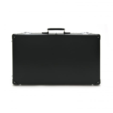 "Globe-Trotter Original 30"" Suitcase with Wheels in Black-Suitcase-Sterling-and-Burke"