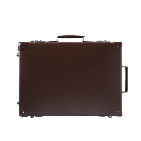 "Globe-Trotter Original 20"" Trolley Suitcase in Brown"