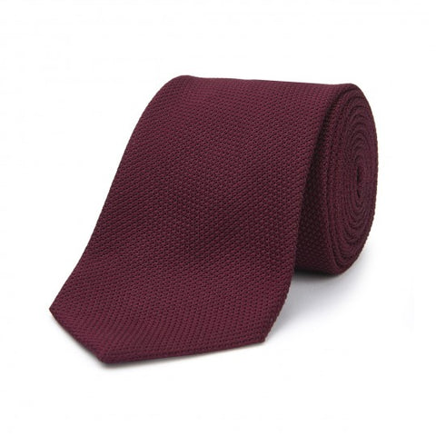 Budd Tie | Piccola Grenadine Tie | Various Colors | Budd Shirtmakers | Made in England
