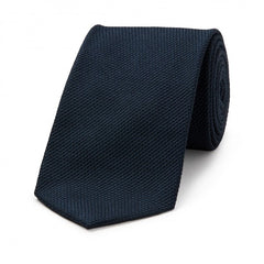 Budd Tie | Piccola Grenadine Tie | Various Colors | Budd Shirtmakers | Made in England-Cashmere Scarf-Sterling-and-Burke
