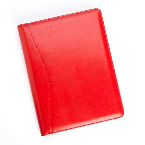 Bonded Leather Pad Cover Portfolio / Pad Folio with Letter Sized Writing Pad-Portfolio-Sterling-and-Burke