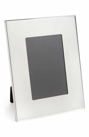 Pewter Frame | 4 by 6 inches | Picture Frame | Wide Border | Made in America