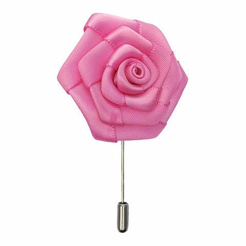 Isabelle Silk Floral Lapel Pin