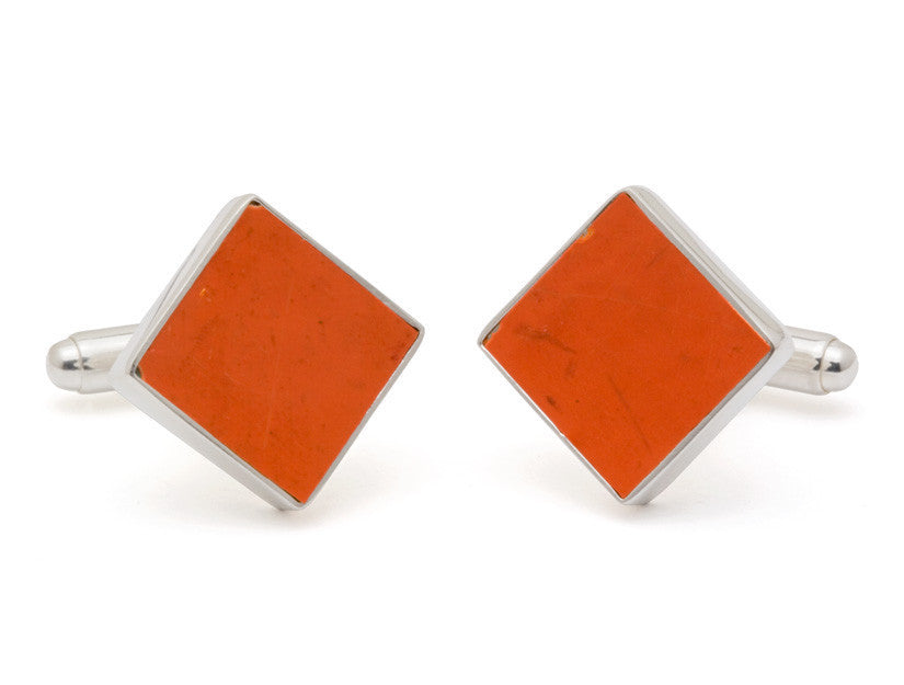 RFK Memorial Stadium Seat Cufflinks-Cufflinks-Sterling-and-Burke