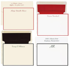 Custom Stationery | Well Priced / Nice Quality | Personal Stationery Wardrobe | Classic Designs | Reasonably Priced | Raised Printing | Flat Printing-Custom Stationery-Sterling-and-Burke
