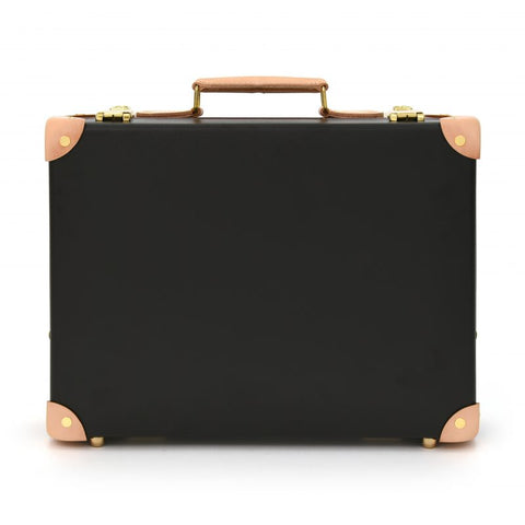 "Globe-Trotter Safari 16"" Slim Attache Case in Brown"