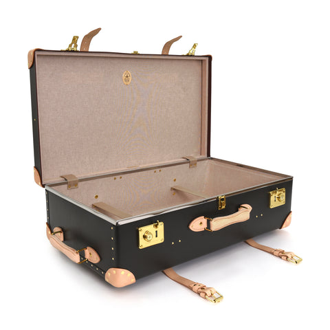 "Globe-Trotter Safari 26"" Suitcase in Brown-Suitcase-Sterling-and-Burke"