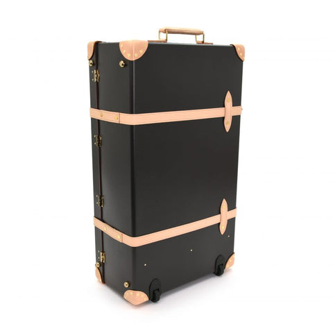 "Globe-Trotter Safari 30"" Extra Deep Suitcase in Brown-Suitcase-Sterling-and-Burke"