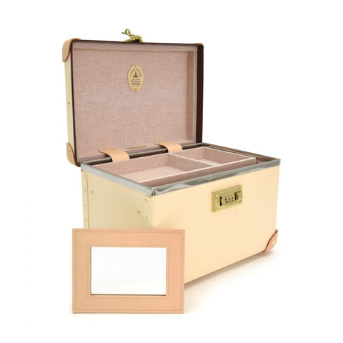 "Globe-Trotter Safari 13"" Vanity Case in Ivory-Suitcase-Sterling-and-Burke"