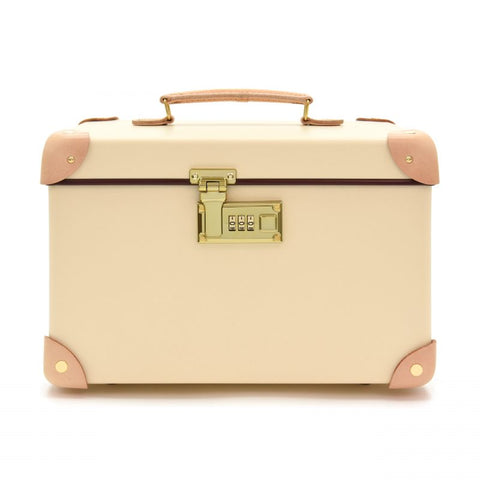 "Globe-Trotter Safari 13"" Vanity Case in Ivory"