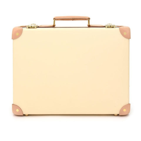 "Globe-Trotter Safari 16"" Slim Attache Case in Ivory"
