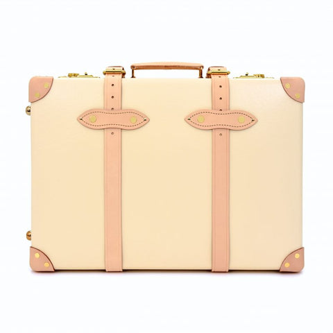 "Globe-Trotter Safari 20"" Trolley Suitcase in Ivory-Suitcase-Sterling-and-Burke"