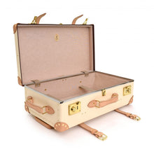 "Load image into Gallery viewer, Globe-Trotter Safari 26"" Suitcase Ivory-Suitcase-Sterling-and-Burke"