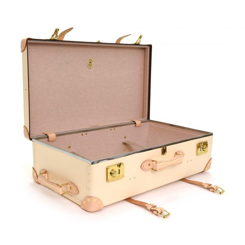 "Globe-Trotter Safari 30"" Extra Deep Suitcase in Ivory-Suitcase-Sterling-and-Burke"