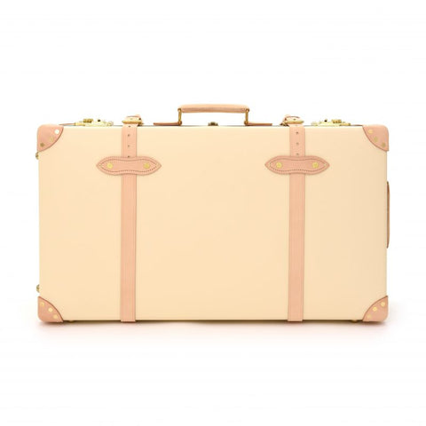 "Globe-Trotter Safari 30"" Extra Deep Suitcase in Ivory"