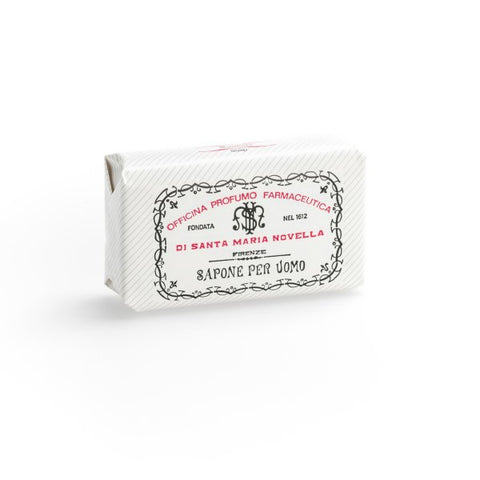 Santa Maria Novella Men's Soap in Sandalwood, Single Bar-Soaps-Sterling-and-Burke