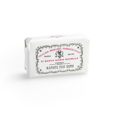 Santa Maria Novella Men's Soap in Russian Cologne, Single Bar-Soaps-Sterling-and-Burke