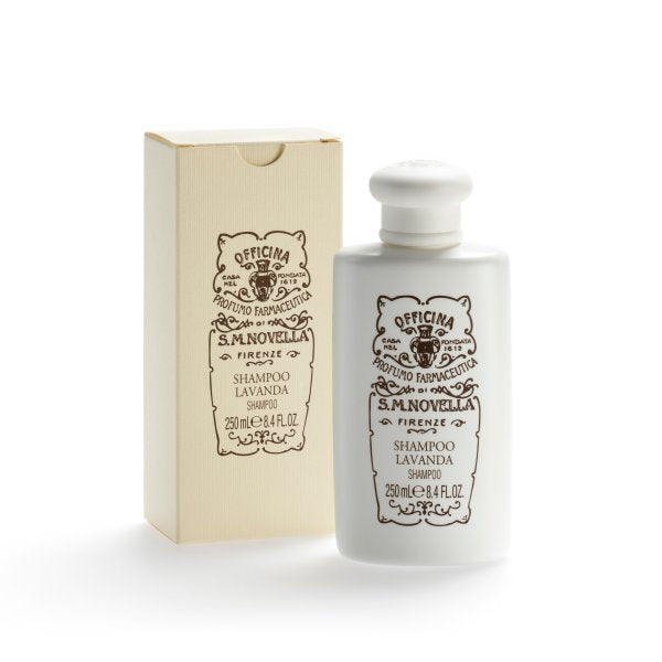 Santa Maria Novella Lavender Shampoo, 250ml-Face & Body Care-Sterling-and-Burke