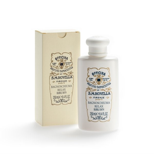 Santa Maria Novella Relax Bubble Bath, 250ml-Liquid Cleanser-Sterling-and-Burke