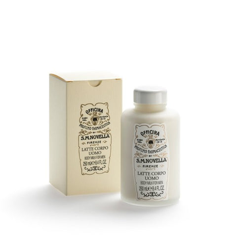 Santa Maria Novella Body Milk for Men, 250ml-Face & Body Care-Sterling-and-Burke