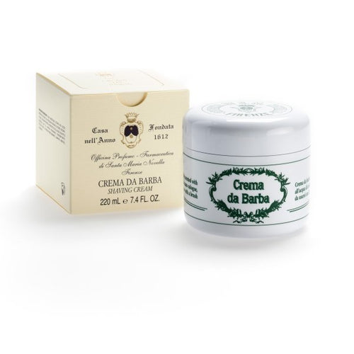 Santa Maria Novella Shaving Cream, 220ml-Men's Care-Sterling-and-Burke