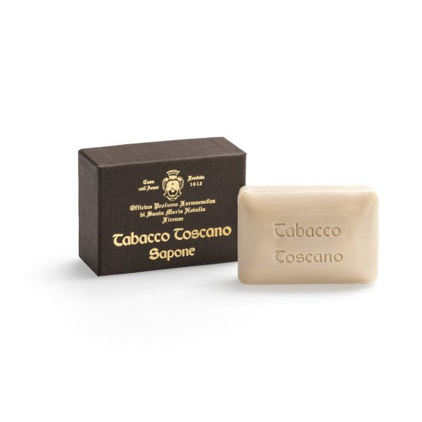 Santa Maria Novella Tabacco Toscano Soap, Single Bar-Soaps-Sterling-and-Burke