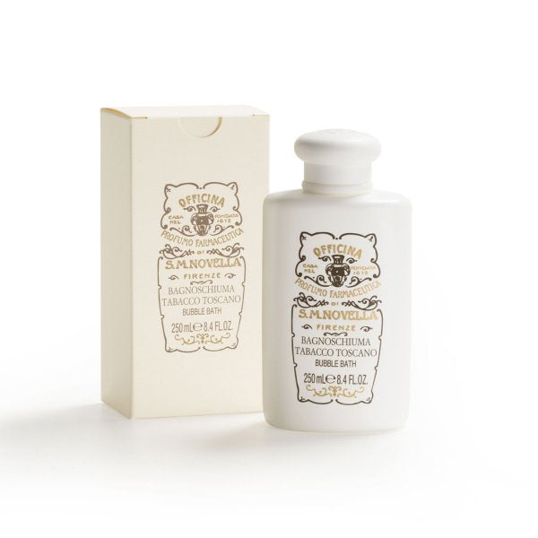 Santa Maria Novella Tabacco Toscano Bubble Bath, 250ml-Face & Body Care-Sterling-and-Burke